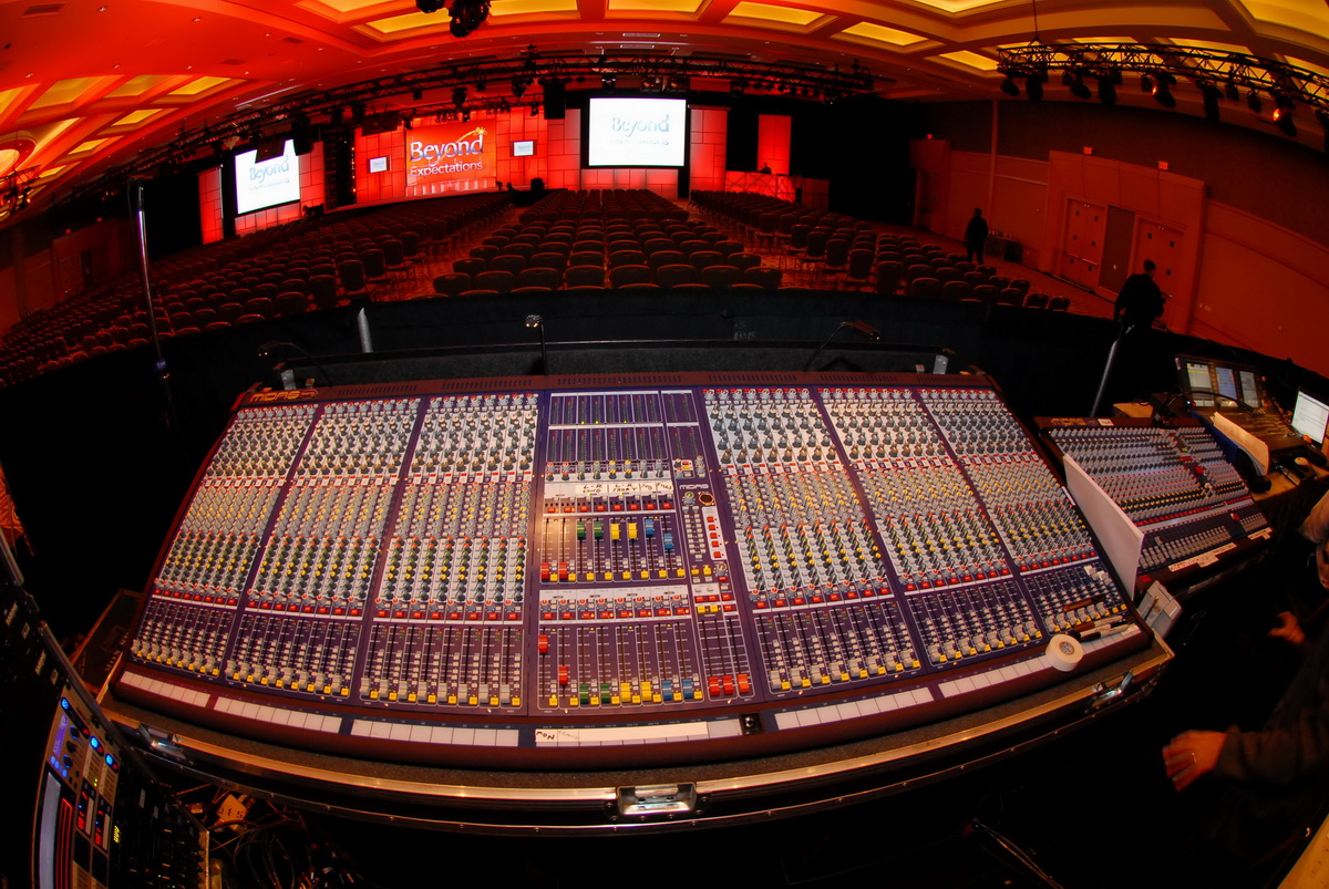 Technical Production Conference Setup